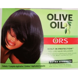 Organic Olive oil défrisant Super