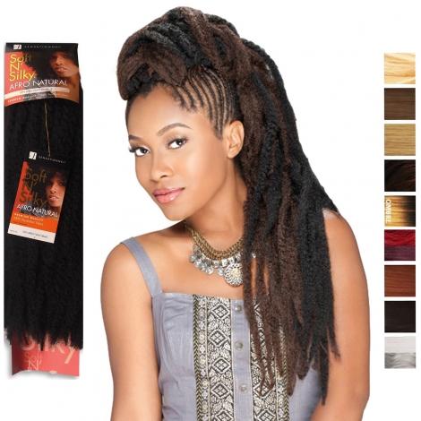 Afro kinky twist