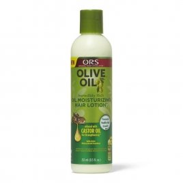 Organic olive oil hair lotion