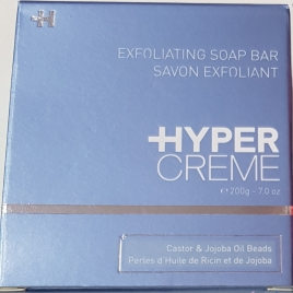 Hypercreme exfoliating soap