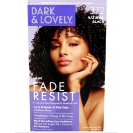 Dark and Lovely  Natural Black 372