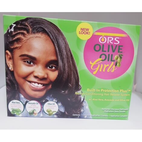 Organics Olive oil défrisants girls