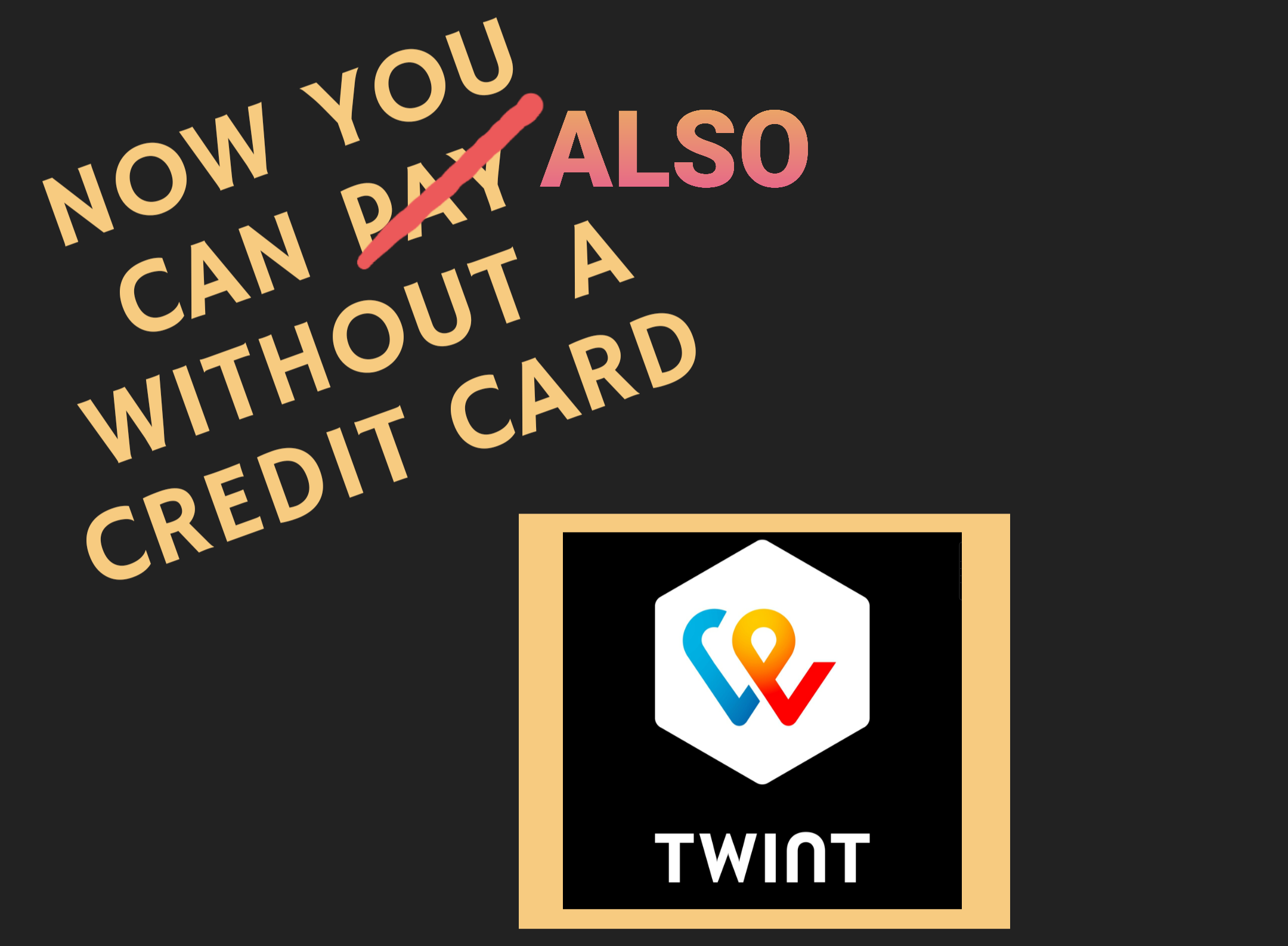 Twint payment